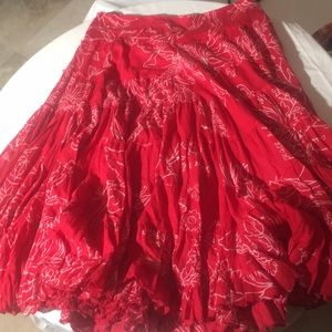 Dresses & Skirts - Long red skirt